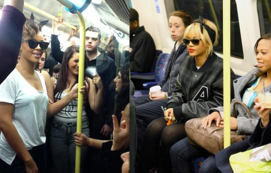 tube london rhianna