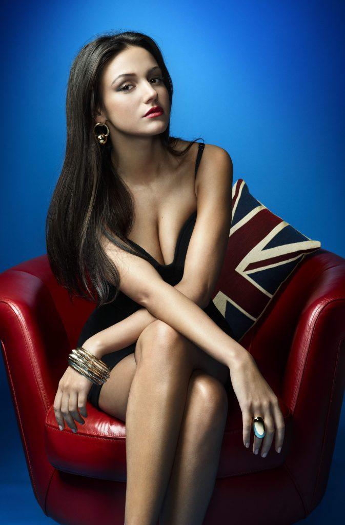 Michelle Keegan Sexy Brunette